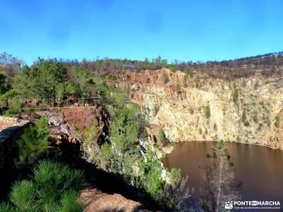 Sierra Aracena-Minas RíoTinto;glosario excursiones organizadas fin de semana alimentación para sen